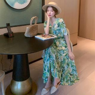 Đầm Voan Thời Trang Mùa Hè Phong Cách Hàn Quốc
