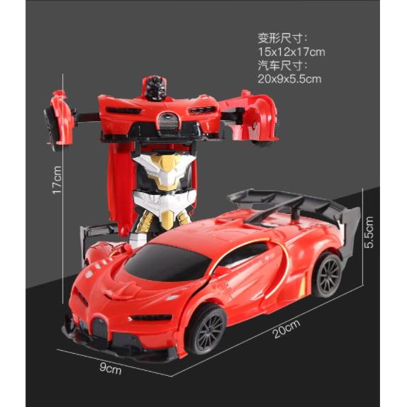 Xe Ôtô Điều Khiển Biến Hình Robot