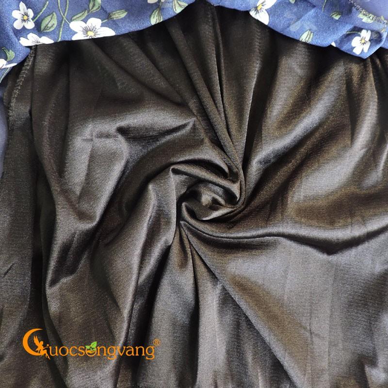 Chân váy dài Maxi chân váy lụa chiffon dài lụa chiffon GLV144 - Chân váy dài