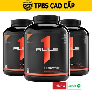 Whey Protein Rule 1 Whey ISOLATE Hydrolyzed Whey Cao Cấp Hộp 2.3kg