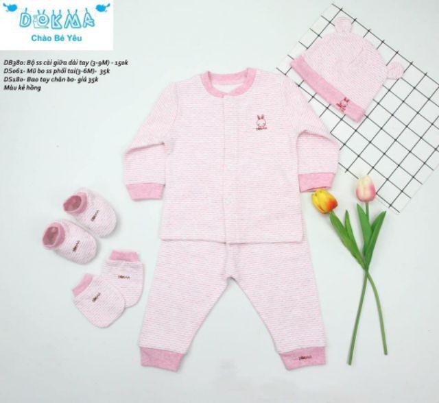 Set 3 chi tiết Dokma thu đông ấm áp cho bé