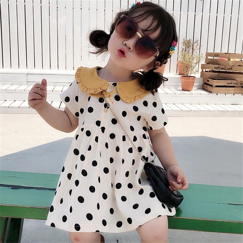 Đầm công chúa chấm bi cho bé gái - 15043797 , 2373771099 , 322_2373771099 , 178000 , Dam-cong-chua-cham-bi-cho-be-gai-322_2373771099 , shopee.vn , Đầm công chúa chấm bi cho bé gái