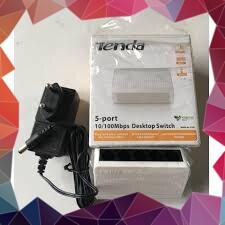 (KHUYẾN MÃI MỚI) Bộ chia mạng 5 cổng 10/100/1000Mbps Tenda model GS105 Giá chỉ 351.000₫