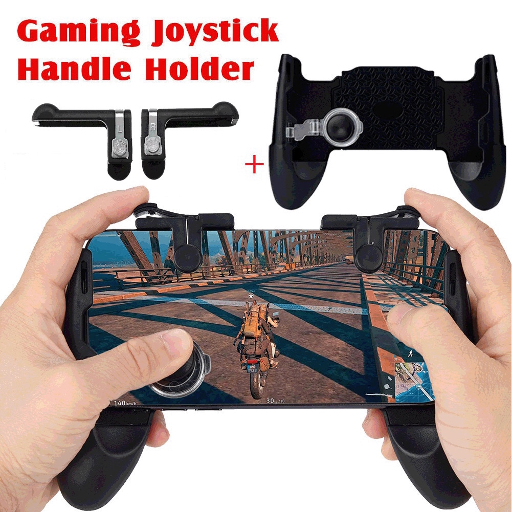 4 In 1 Controller Set Universal Portable Gaming Joystick Handle Mobile Phone Buttons Gamepad Holder