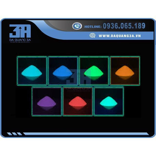 combo 7 Hộp Bột Dạ Quang Trang Trí (7 MÀU ) _có video nè mã sp TA2565 GLINHPI