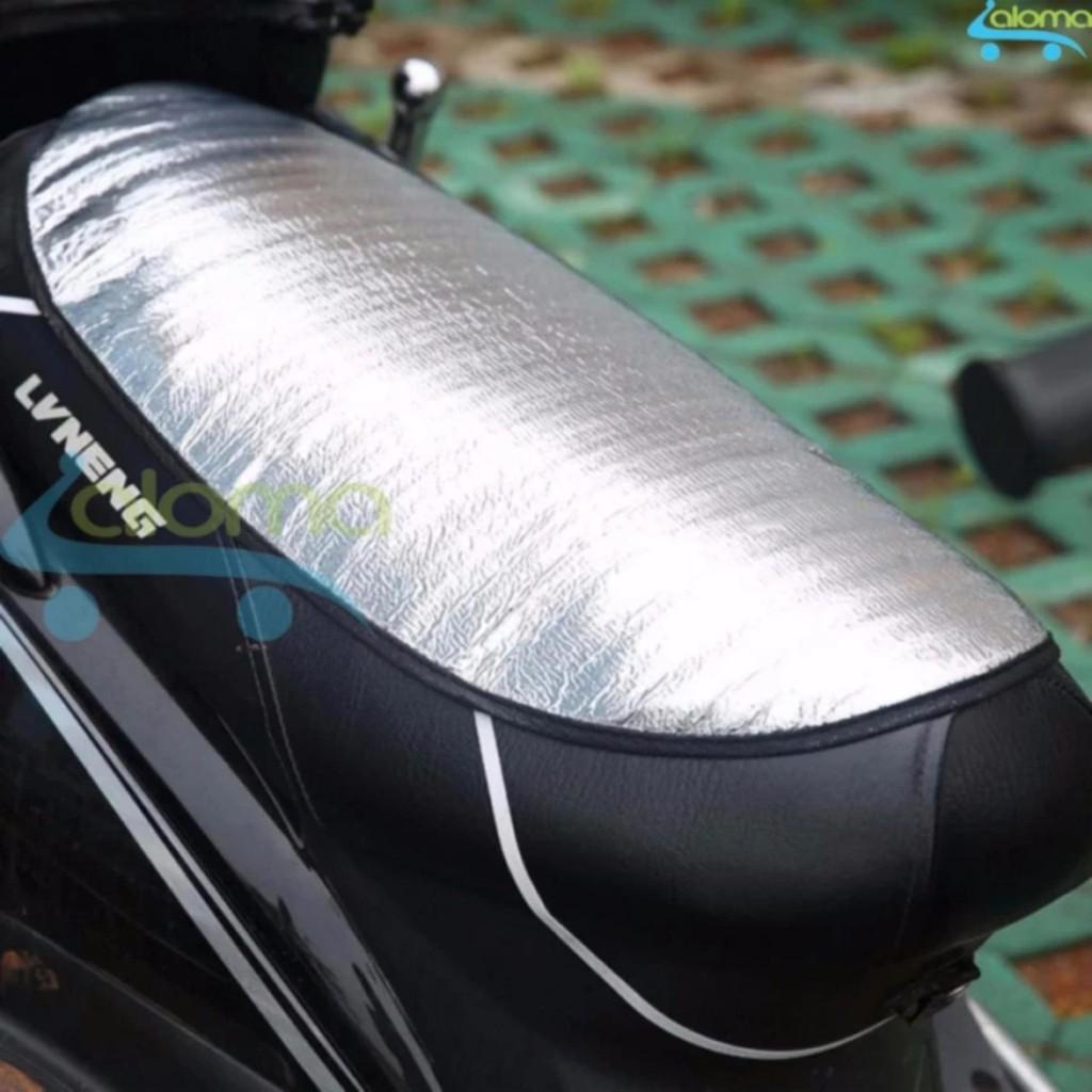 Combo 5 Tấm phản quang che nắng chống nóng yên xe máy, che bụi, che mưa loại tốt
