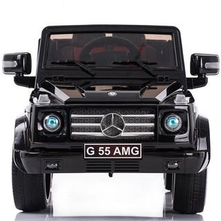Ô Tô Điện Trẻ Em Địa Hình MERCEDES Model G55 AMG 4 Động Cơ + 2 ghế da đẳng cấp – DH STORE