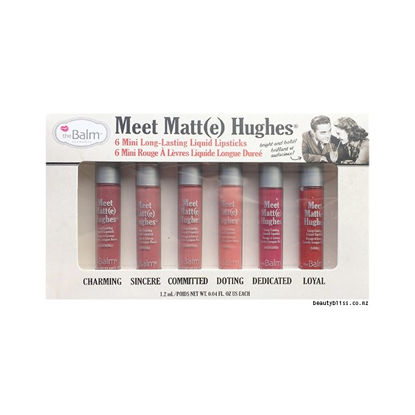 Set son The Balm Meet Matte Hughes