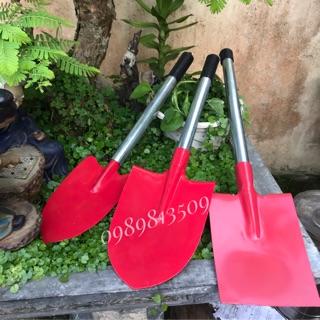 Xẻng làm vườn,xẻng thép cầm tay dài 50cm