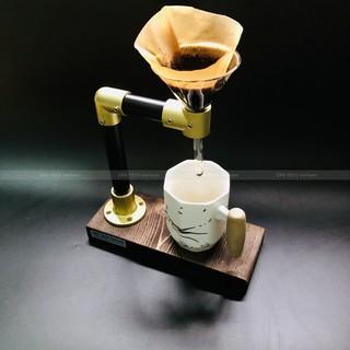 Bộ dụng cụ pha chế cà phê thủ công V60 Hario bằng phin giấy lọc đơn giản tại nhà và du lịch YOLO thumbnail