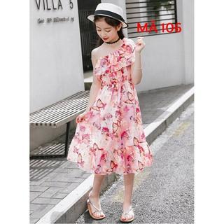 Váy mùa hè họa tiết Bướm cực xinh MÃ 106
