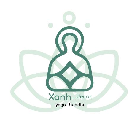 Xanhdecor-yoga-buddha