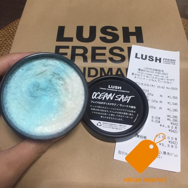 (AUTH Nhật) CÓ SẴN Salt LUSH Nhật Bản (có bill)