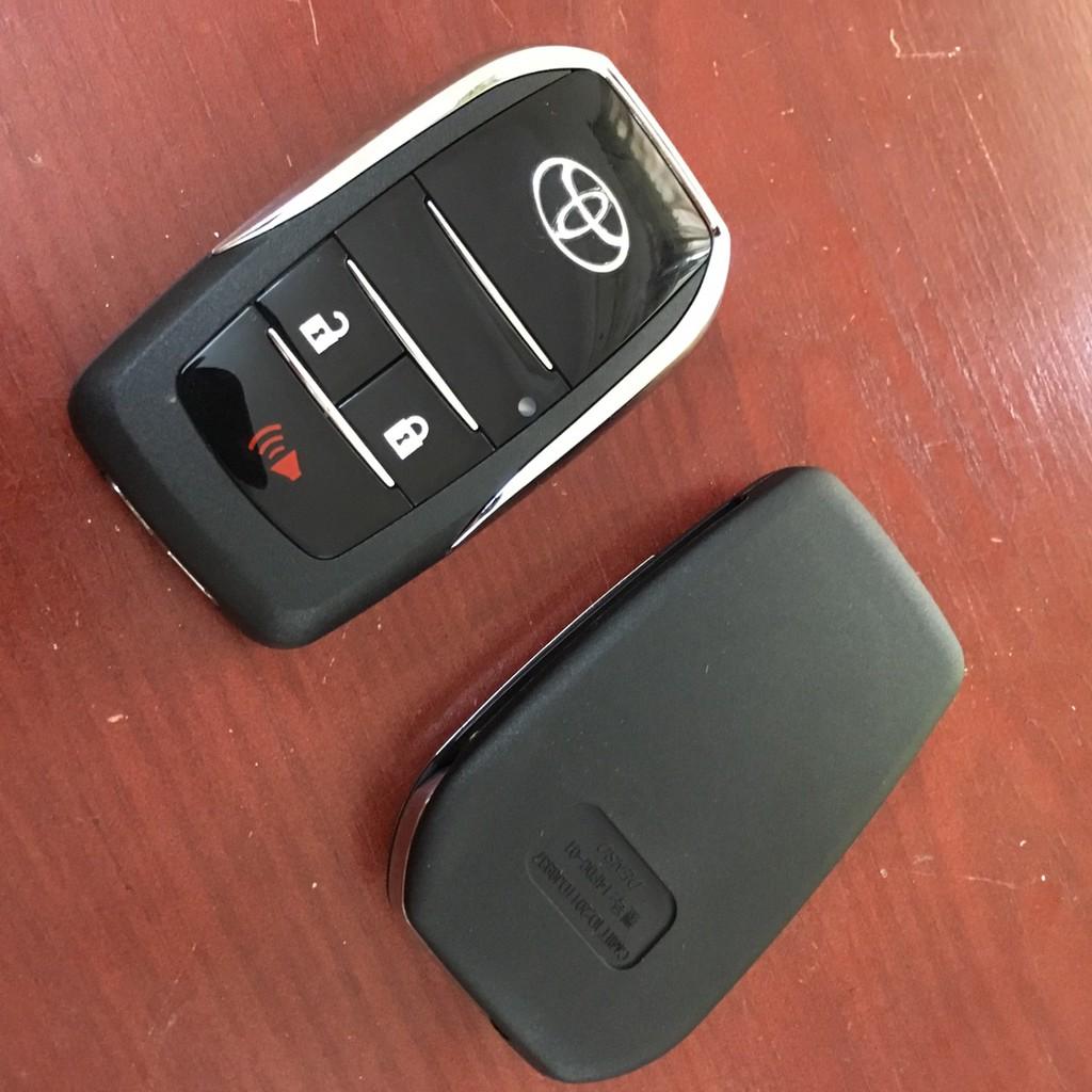 Vỏ Chìa Khoá Cao Cấp Độ Gập Khóa Của Hãng Xe Toyota Innova, Fortuner, Vios, Yaris, corolla Altis, Camry...