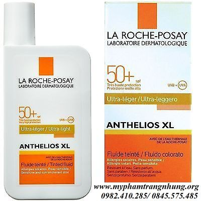 KEMCHỐNG NẮNG LA ROCHE POSAY ANTHELIOS XL GEL CREAM DRY TOUCH SPF 50+