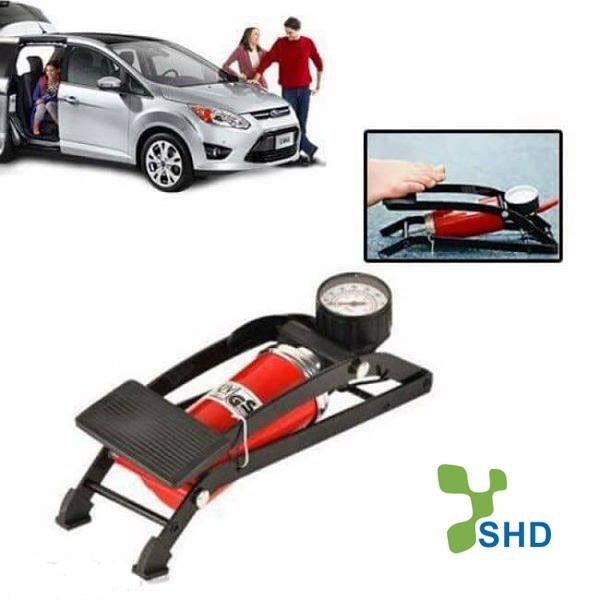 Bơm hơi đạp chân mini cho xe máy ô tô - 3537199 , 1140150179 , 322_1140150179 , 135000 , Bom-hoi-dap-chan-mini-cho-xe-may-o-to-322_1140150179 , shopee.vn , Bơm hơi đạp chân mini cho xe máy ô tô