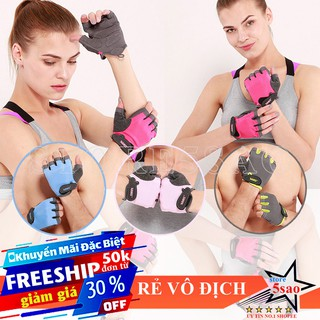 🎁 Găng tay tập gym nữ đẹp 😍 Freeship ⚡ Bao tay tập gym nữ SP19 thời trang - giảm giá rẻ vô địch