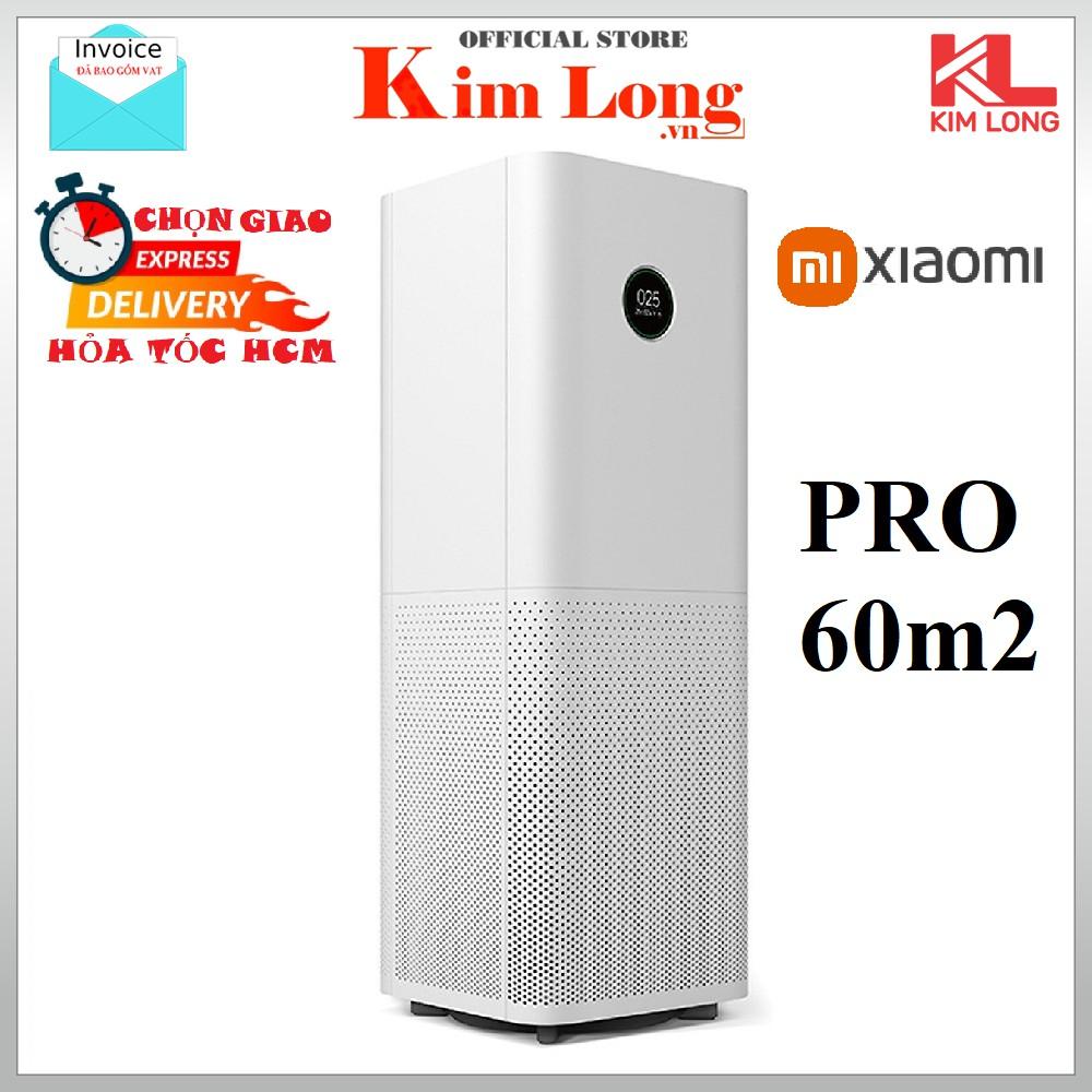 [Hỏa tốc HCM] Máy lọc không khí Xiaomi Pro Air Purifier CADR 500m3/h lọc bụi 0.3μm PM 2,5, FJY4013GL- Hàng chính hãng
