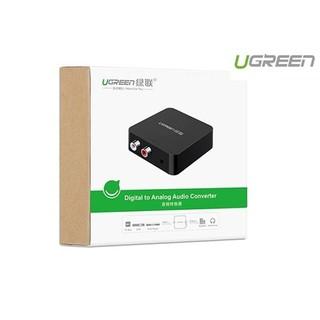 [Mã ELMSBC giảm 8% đơn 300K] Bộ converter quang sang AV Ugreen 30523