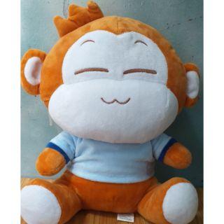 Thú nhồi bông hình khỉ đáng yêu