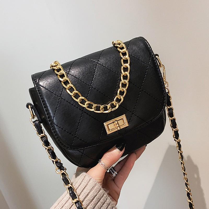Bag female 2019 new wave Korean version of the Messenger bag