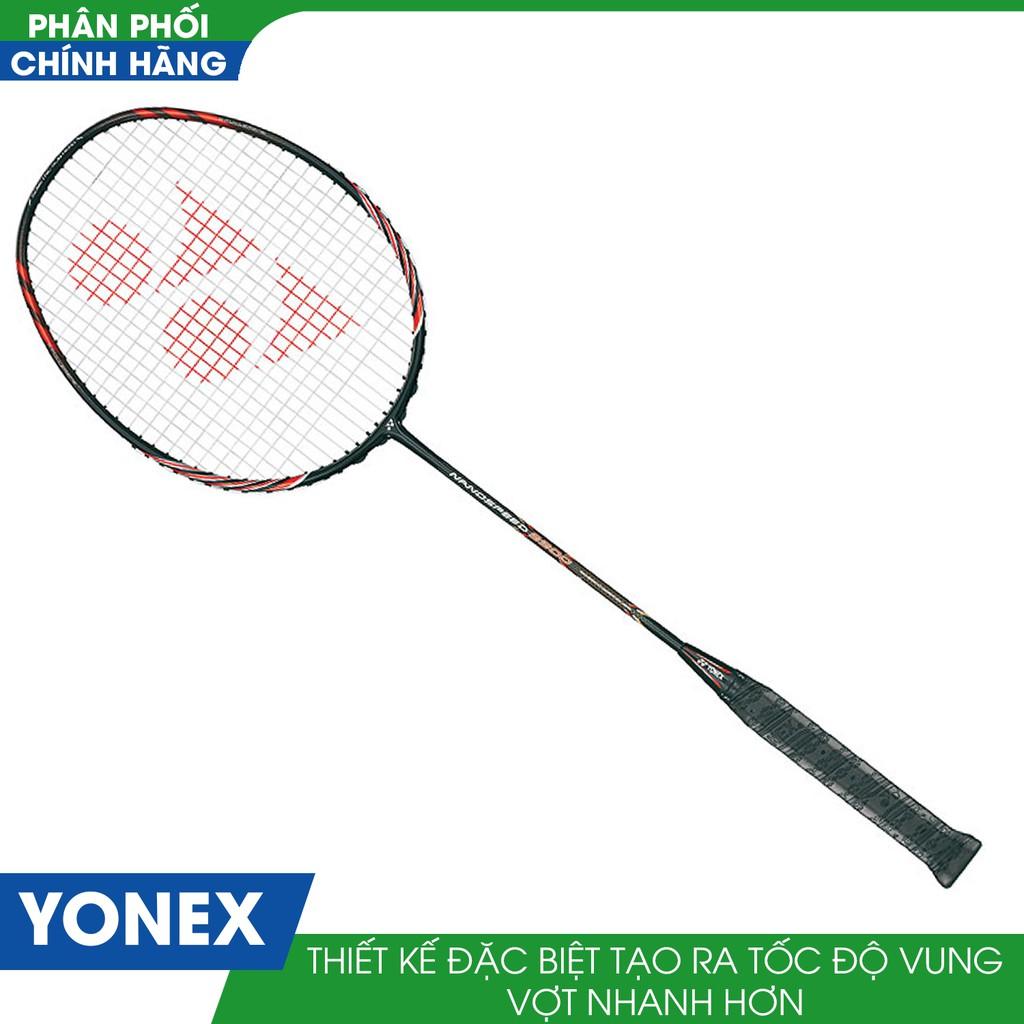 Vợt cầu lông Yonex NANOSPEED 9900 ( Đen đỏ )