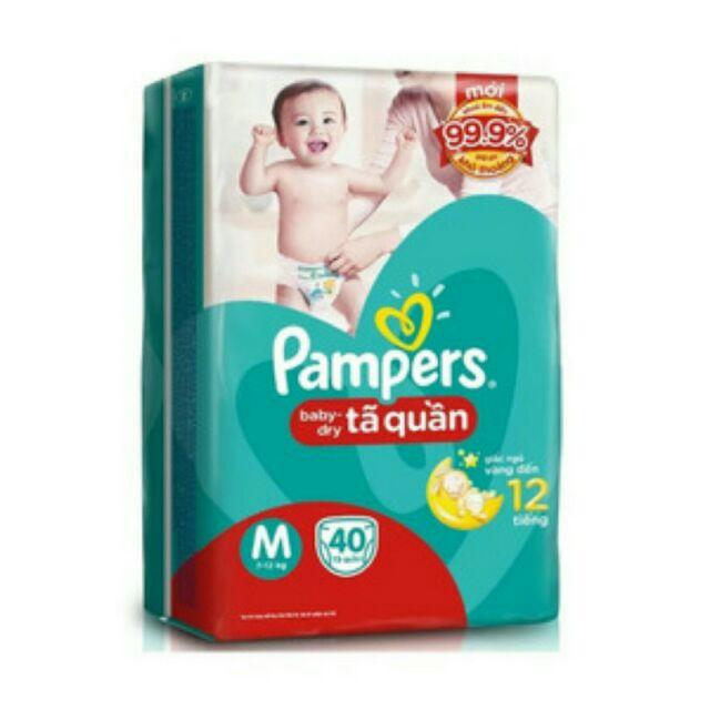 Bỉm quần Pamper m40