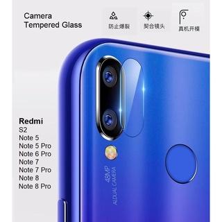 Xiaomi Mi Redmi Note 8 Pro Note 7 Note 6 Pro Note 5 Pro S2 RN8 RN7 Back Camera Tempered Glass Protector 2.5D
