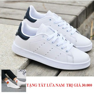 Giày sneaker nam thể thao Trắng cao cấp GNK 51