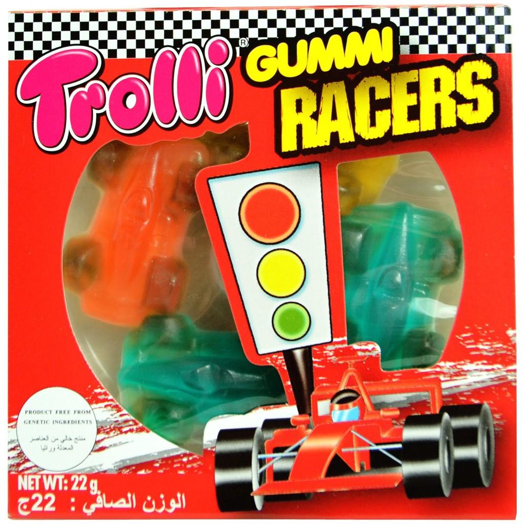 Combo 3 Kẹo Gummi Trolli Races và Pizza Mini