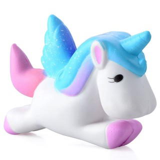 Slow Rebound Bread Unicorn Unzip Toy Jumbo Squishy