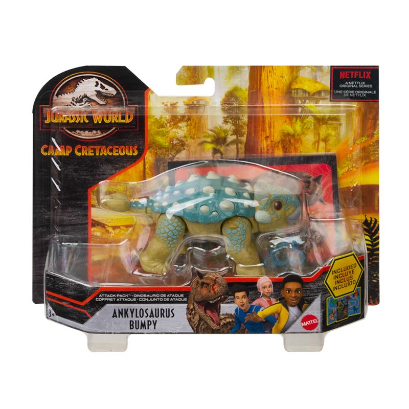 Đồ Chơi Mô Hình JURASSIC WOLRD MATTEL Khủng Long Giáp Long Baby Ankylosaurus Bumpy GMP71/FPF11