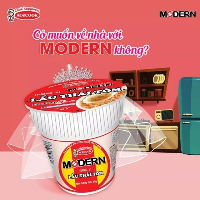 Mì ly modern acecook