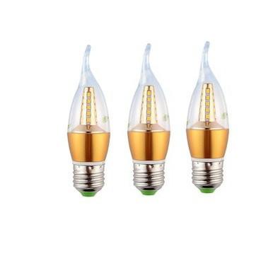 Combo 3 BÓNG Đèn Nến LED 5W E27 - Ánh sáng vàng - 3354345 , 517494538 , 322_517494538 , 79000 , Combo-3-BONG-Den-Nen-LED-5W-E27-Anh-sang-vang-322_517494538 , shopee.vn , Combo 3 BÓNG Đèn Nến LED 5W E27 - Ánh sáng vàng