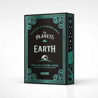 Bài ảo thuật : The Planets: Earth Playing Cards Qgia ngon