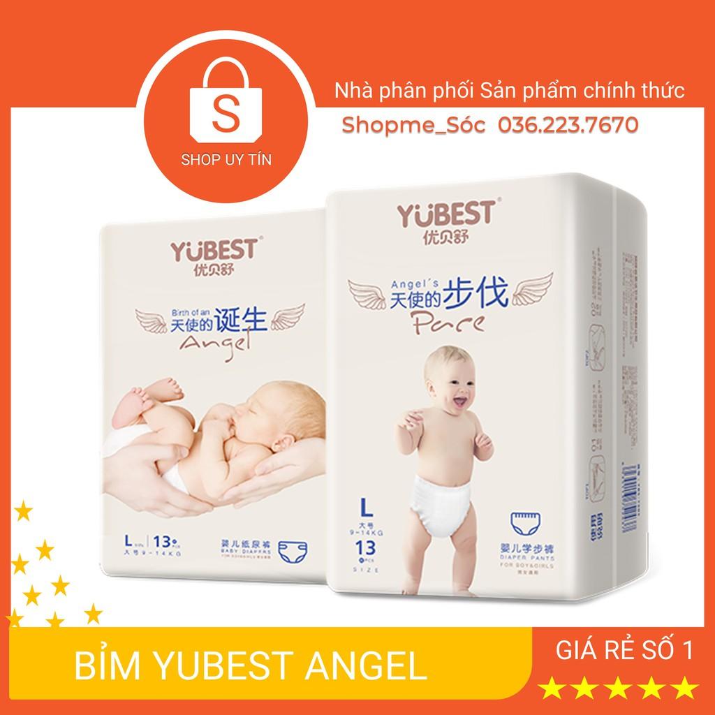 Bỉm Quần/Dán Yubest Angel đủ size S90/M84/L78/XL72/XXL66