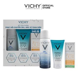 """Bộ sản phẩm serum khoáng phục hồi chuyên sâu Vichy Mineral 89 giá chỉ còn <strong class=""""price"""">17.500.000.000đ</strong>"""