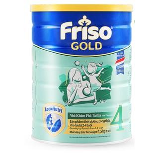 Sữa bột Friso gold 4 1,5kg thumbnail