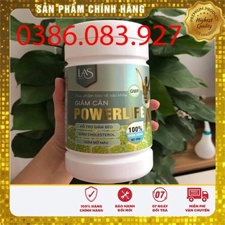 [CHÍNH HÃNG] Trà sữa giảm cân POWERLIFE hủ nhỏ 260gr LAS BEAUTY thumbnail