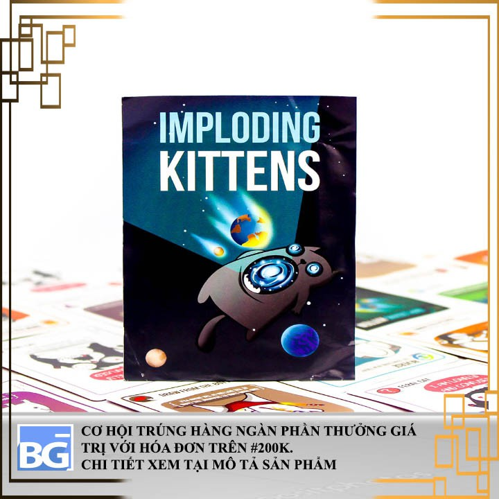 IMPLODING KITTENS - BỘ MÈO NỔ MỞ RỘNG BẢN #3