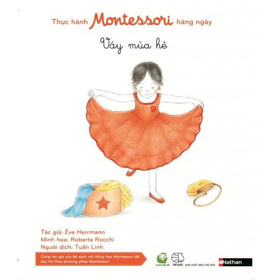 Sách - Thực hành Montessori hàng ngày - váy mùa hè