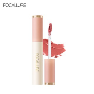 FOCALLURE Velvet Silky-Smooth Highly Pigmented Soft Texture Easy To Apply Lipstick Lip Makeup 1pc 24g thumbnail