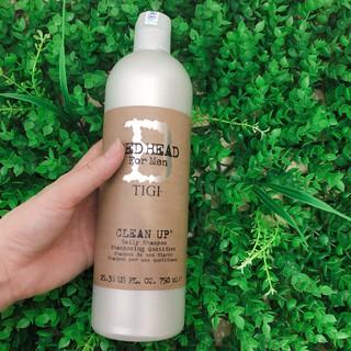 Dầu gội TiGi Bed Head for men Clean up cho nam 750ml (USA)- Chai.