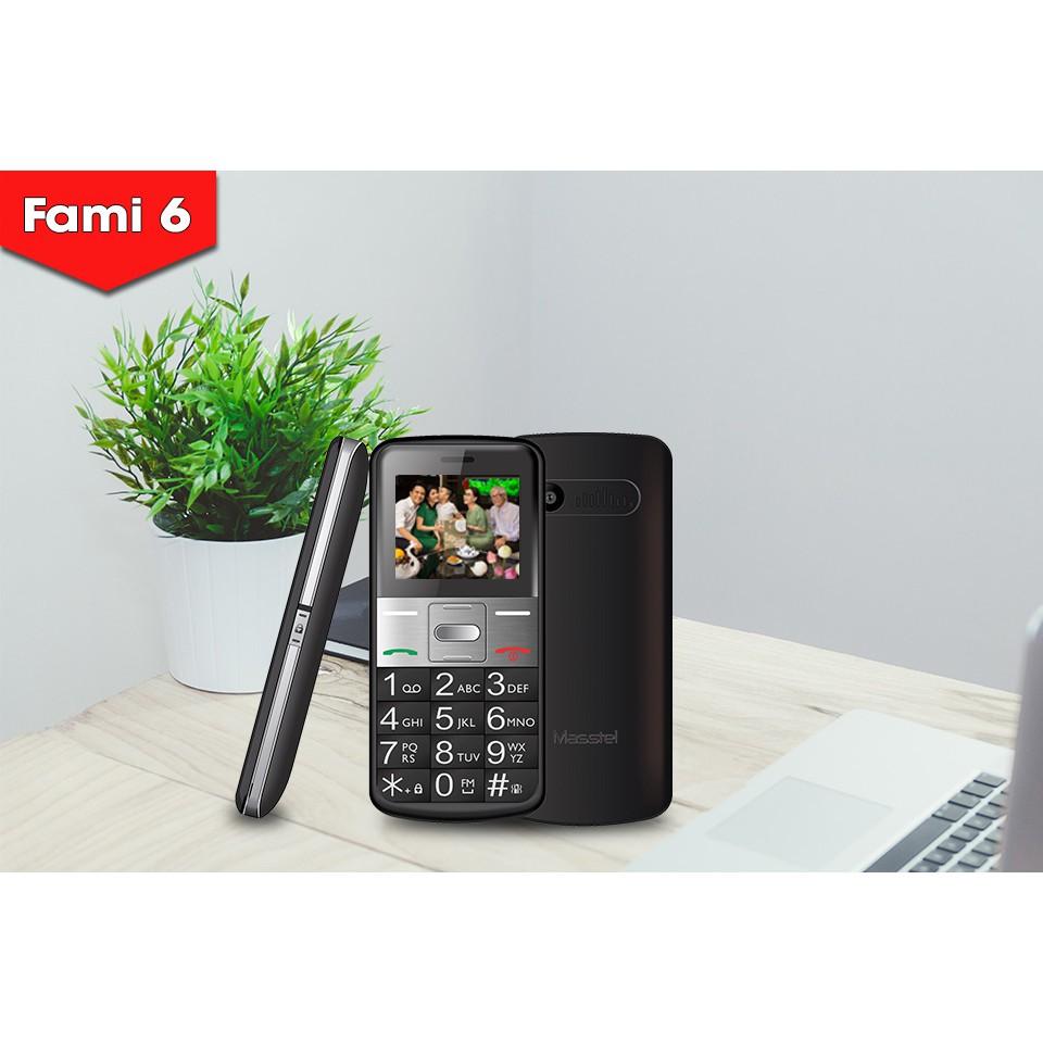 Điện thoại Masstel Fami 6 - Điện thoại cho người già
