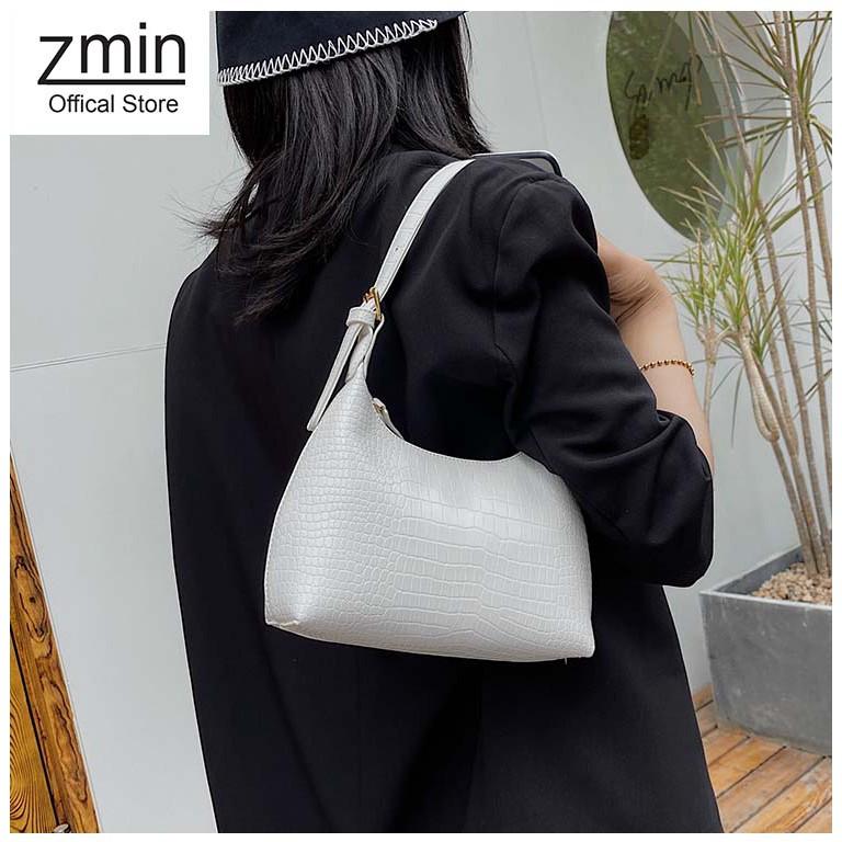 Túi xách nữ Zmin, chất liệu da cao cấp vân cá sấu -T019