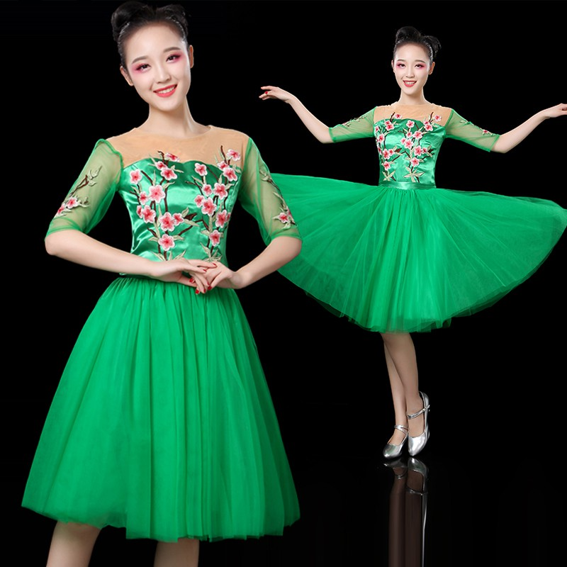 Lm07vn10 pieces from the delivery! Modern dance costumes spring and summer open