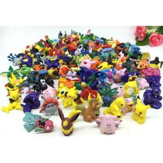 144 mô hình Pokemon Pikachu ngẫu nhiên 2-3cm