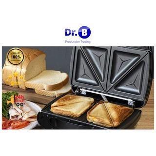 Sale sốc Máy nướng bánh mì sandwich hotdog Nikai nhanh gọn tiện lợi có bảo hành