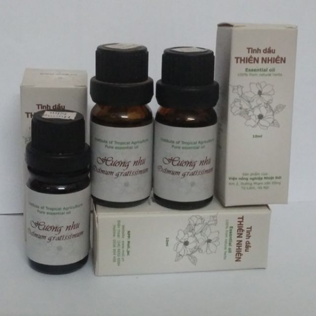 Tinh dầu hương nhu 10ml (Viện nông nghiệp nhiệt đới IAT) - 3380953 , 525345133 , 322_525345133 , 87000 , Tinh-dau-huong-nhu-10ml-Vien-nong-nghiep-nhiet-doi-IAT-322_525345133 , shopee.vn , Tinh dầu hương nhu 10ml (Viện nông nghiệp nhiệt đới IAT)