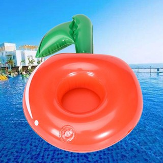 SOME Drink Bottle Seat Cherry Cup Kids Water Beach Floating Inflatable Coasters
